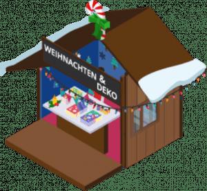 Decoration booth