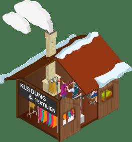 Klothing hosue market